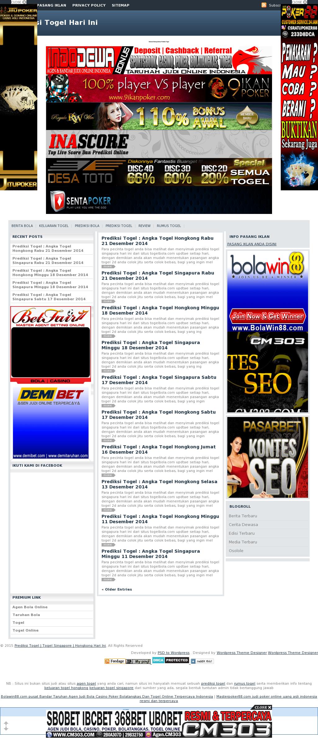 Prediksi Angka Jitu Togel Hari Ini Competitors, Revenue and