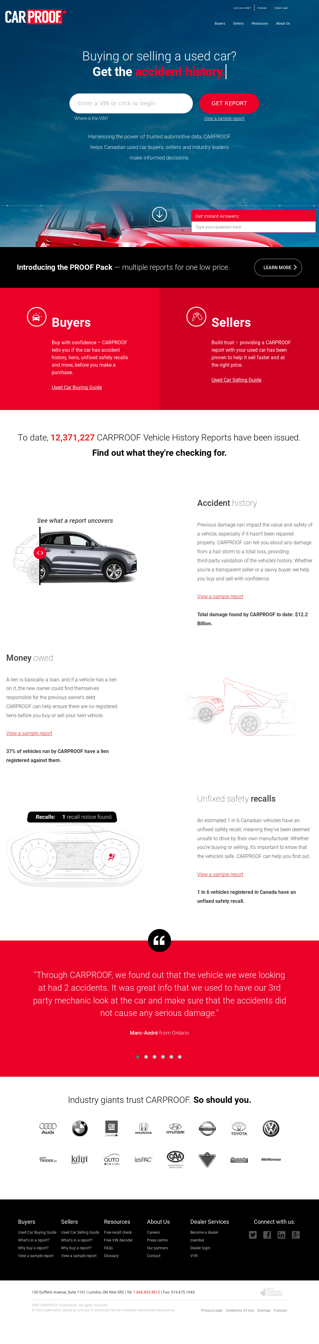 CarProof Competitors, Revenue and Employees - Owler Company Profile