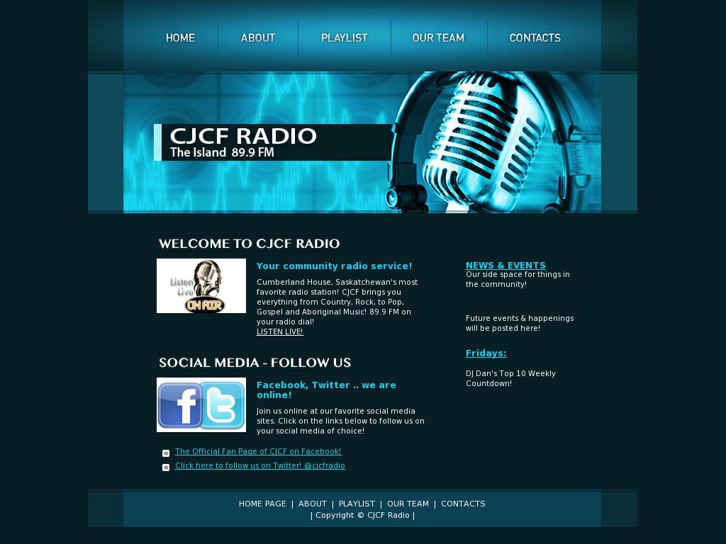 Cjcf Radio 89 9 Fm