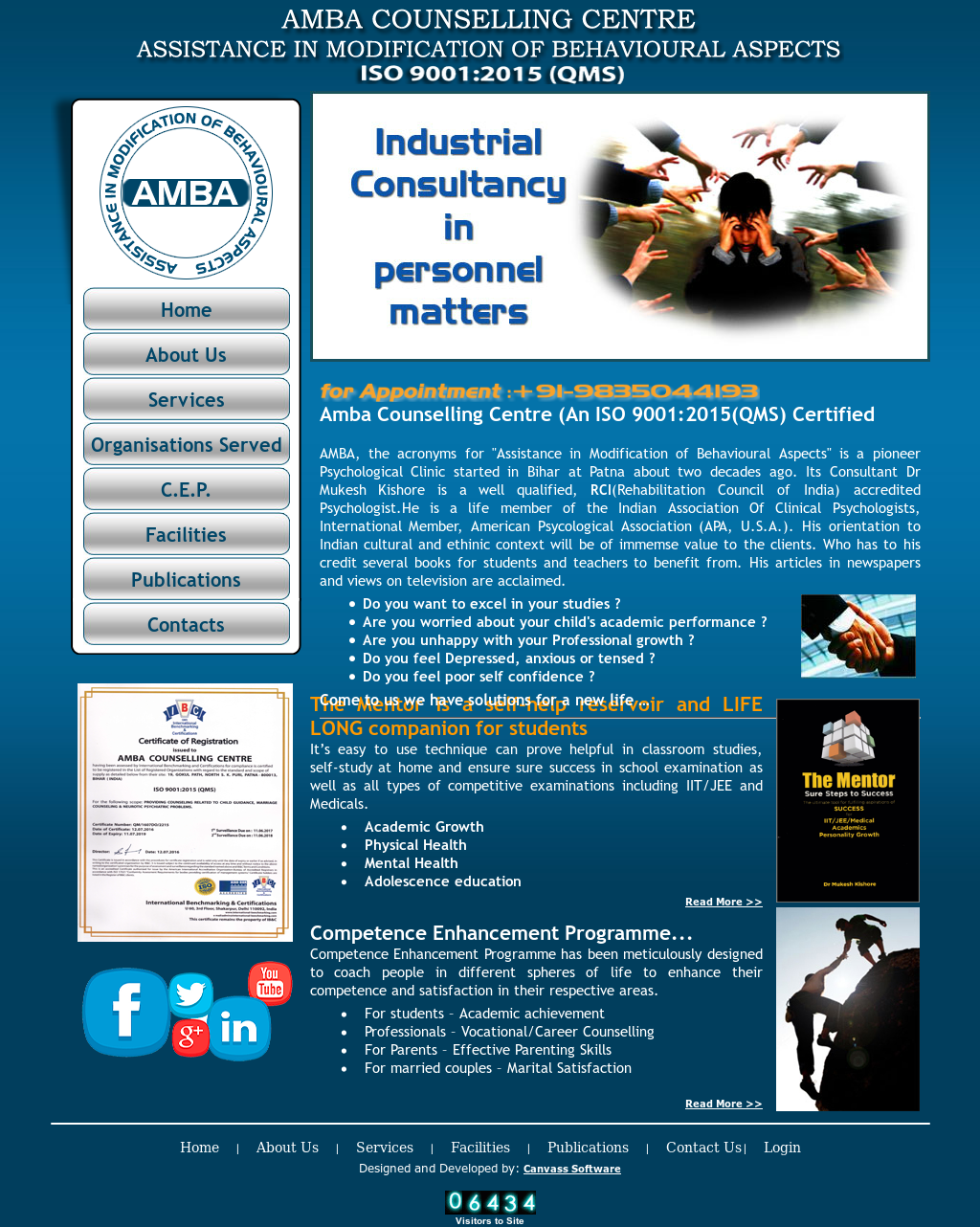 Amba Counselling Centre Competitors, Revenue and Employees
