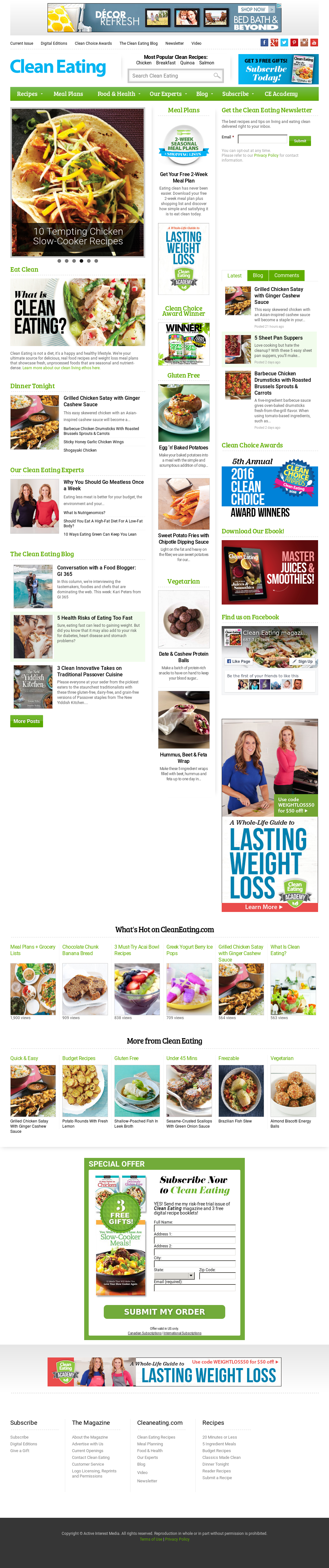 Clean Eating Magazine Competitors, Revenue and Employees