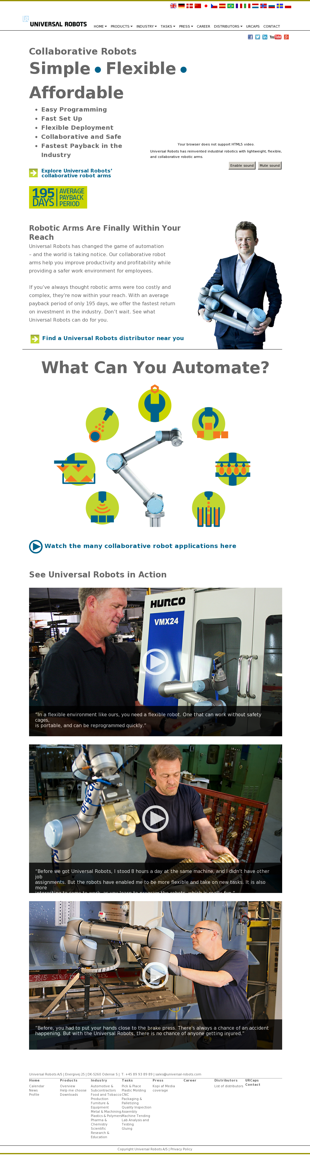 Universal Robots Competitors, Revenue and Employees - Owler