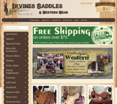 Irvine Tack & Western Wear Competitors, Revenue and