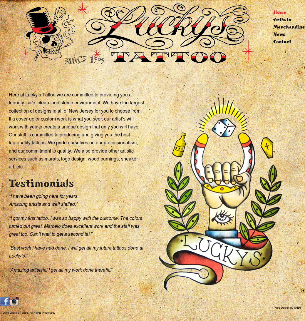 Luckys Tattoo Competitors, Revenue and Employees - Owler