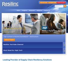 Resilinc website history
