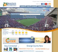 Orange County website history