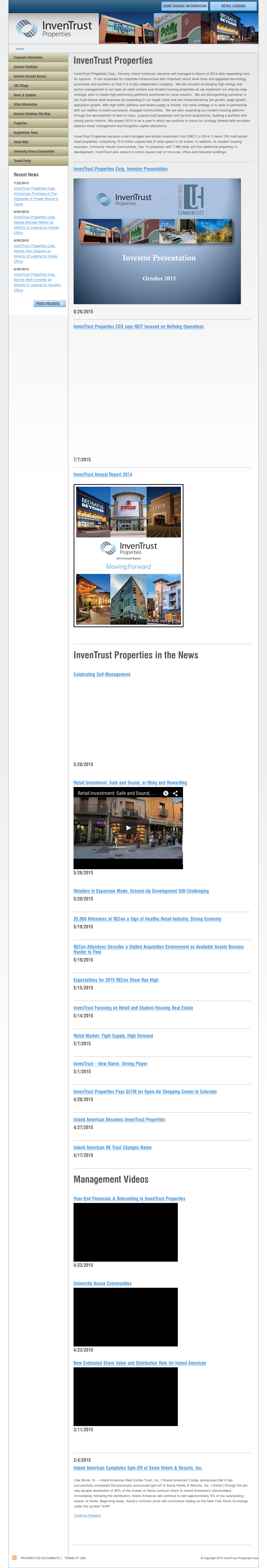 Inventrust Competitors Revenue And Employees Owler Company Profile