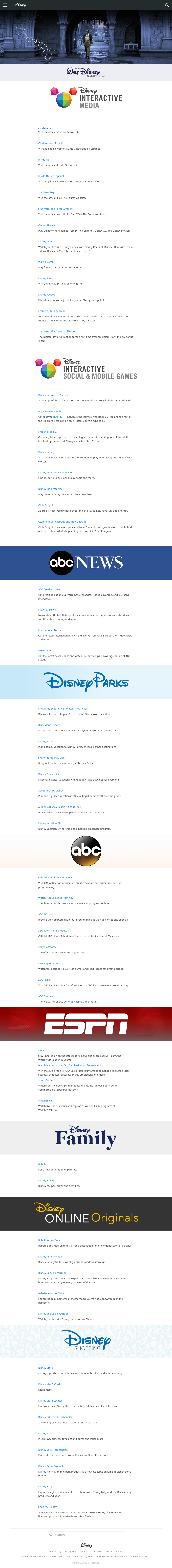 Disney–ABC Television Group Competitors, Revenue and