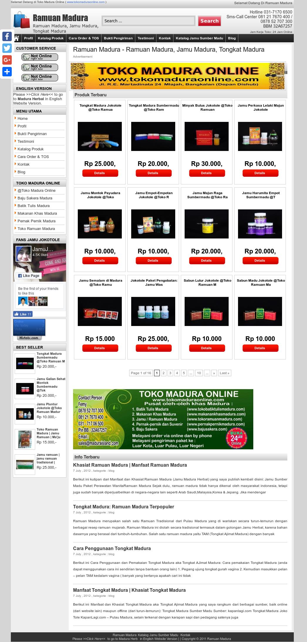Tokoramuanmadura Competitors Revenue And Employees Owler Company Tongkat Madura Profile