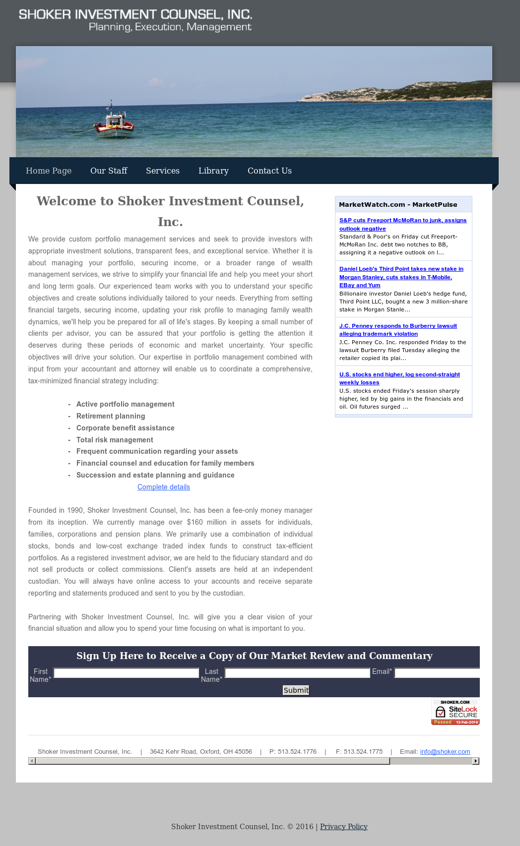 Shoker Investment Counsel Competitors, Revenue and Employees - Owler