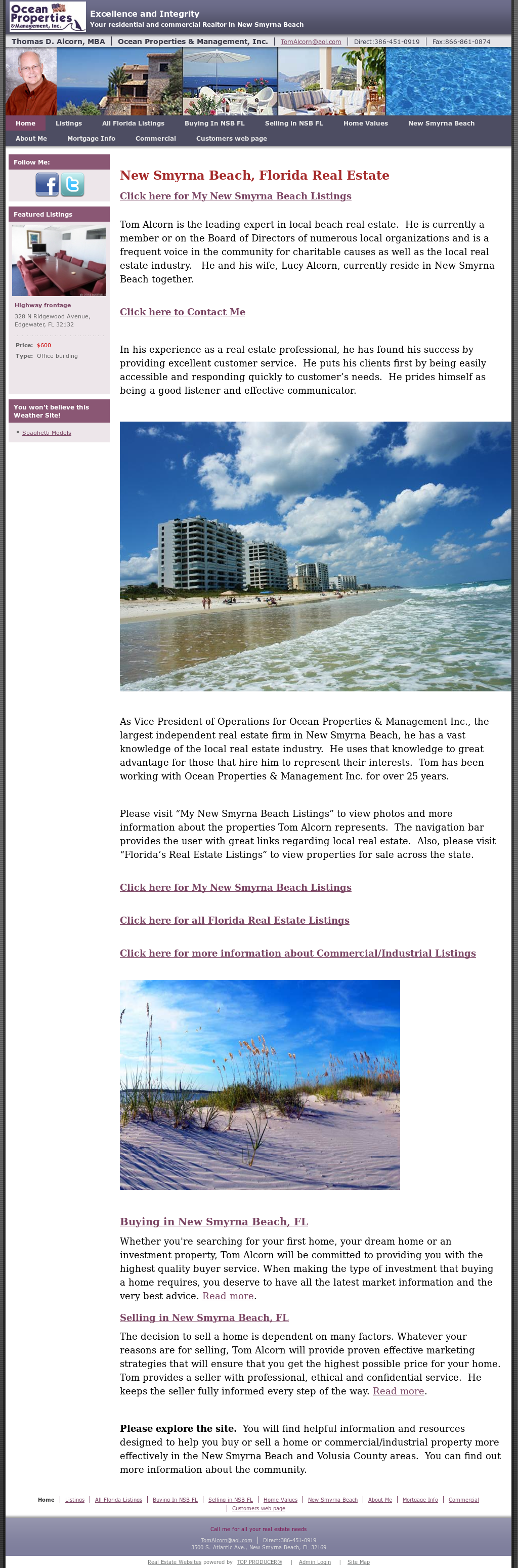 New Smyrna Beach - Real Estate And Living Competitors