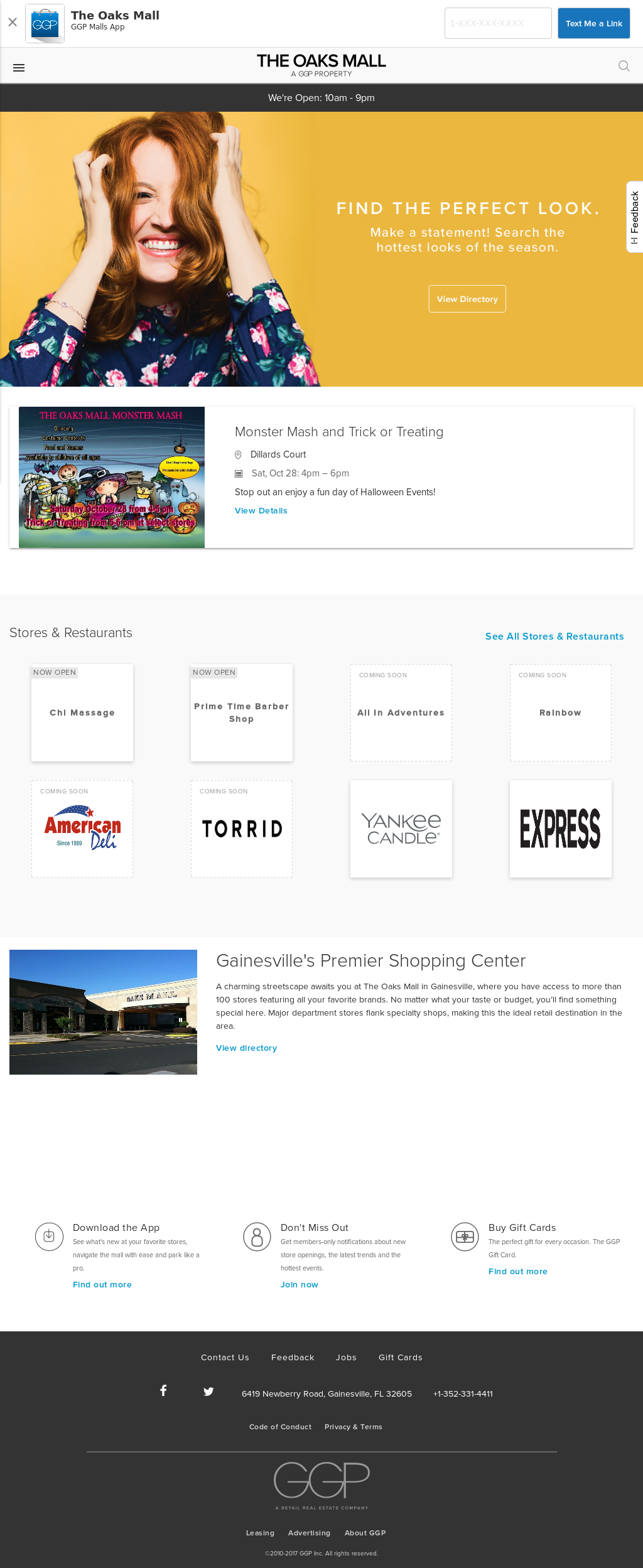 The Oaks Mall Competitors, Revenue and Employees - Owler