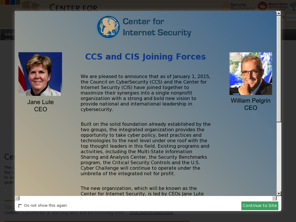 Center for Internet Security Competitors, Revenue and Employees