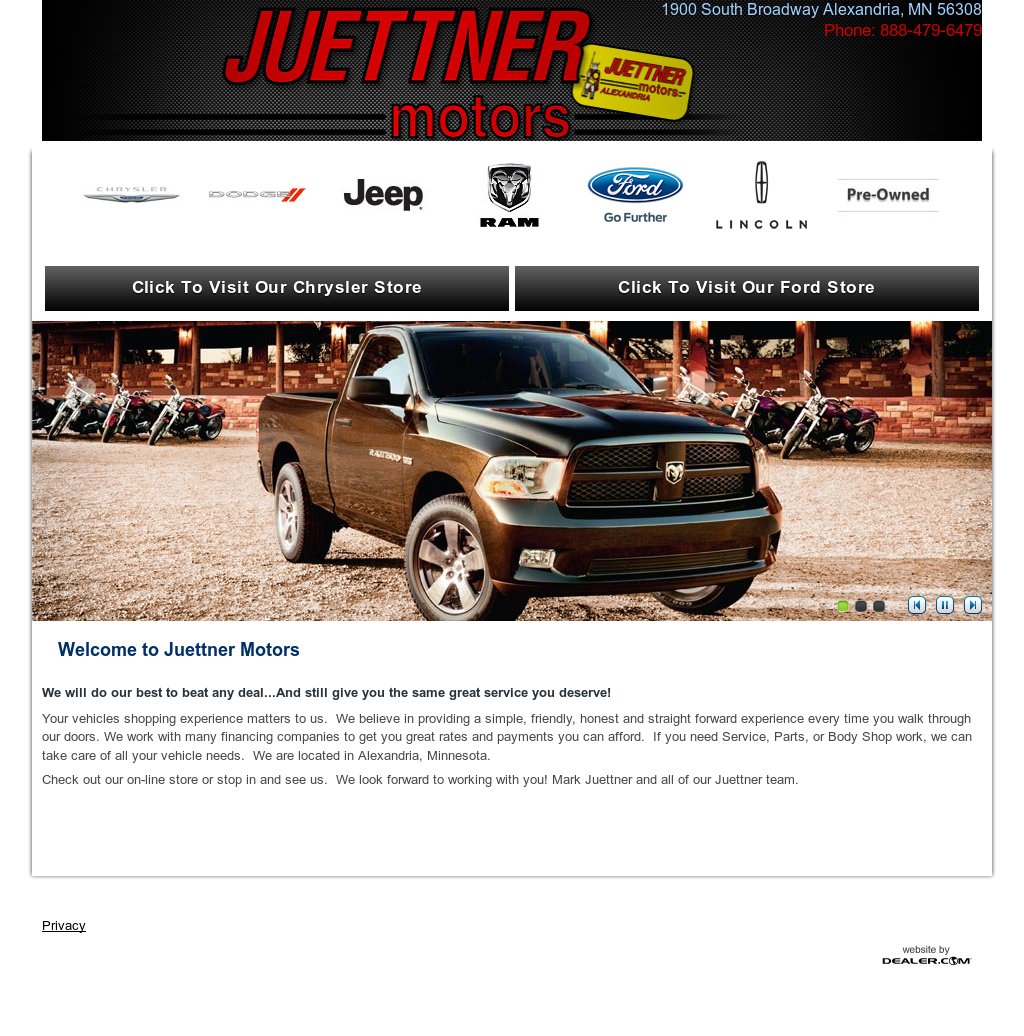 Juettner motors competitors revenue and employees for Juettner motors alexandria mn