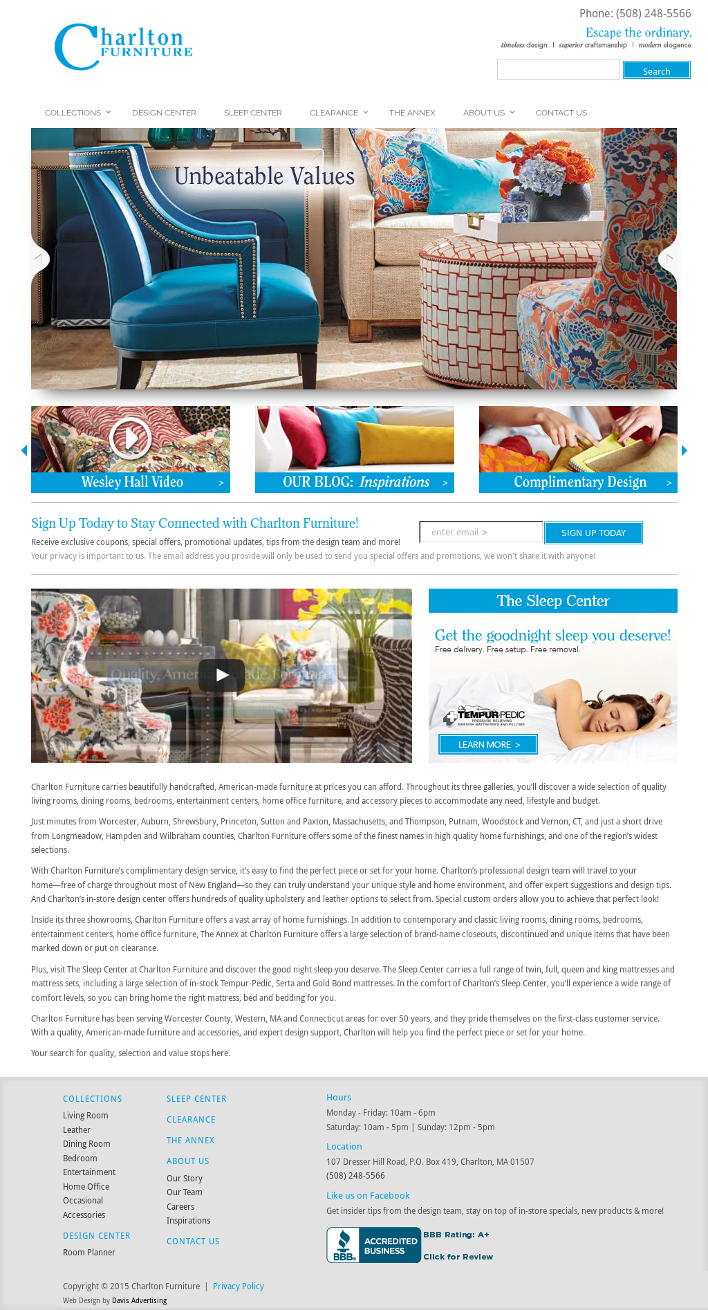 Charlton Furniture Compeors Revenue And Employees Owler Company Profile