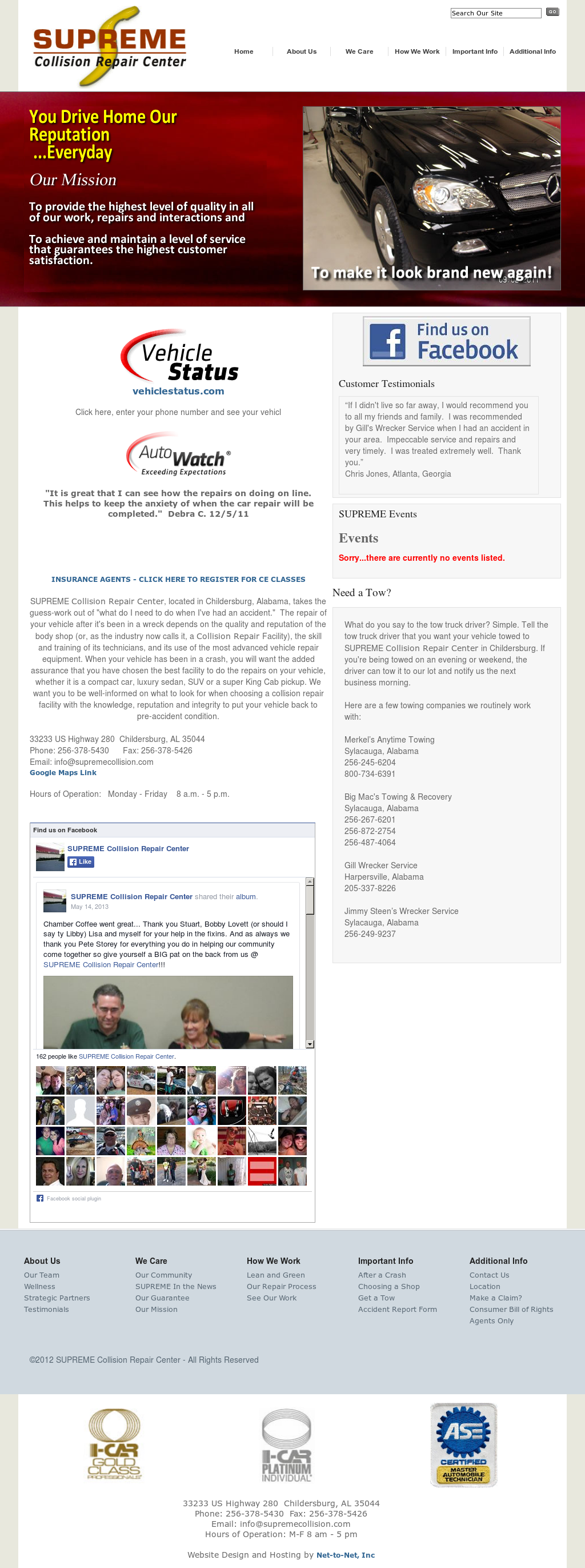 a916acc7efc001 Supreme Collision Repair Center Competitors, Revenue and Employees - Owler  Company Profile