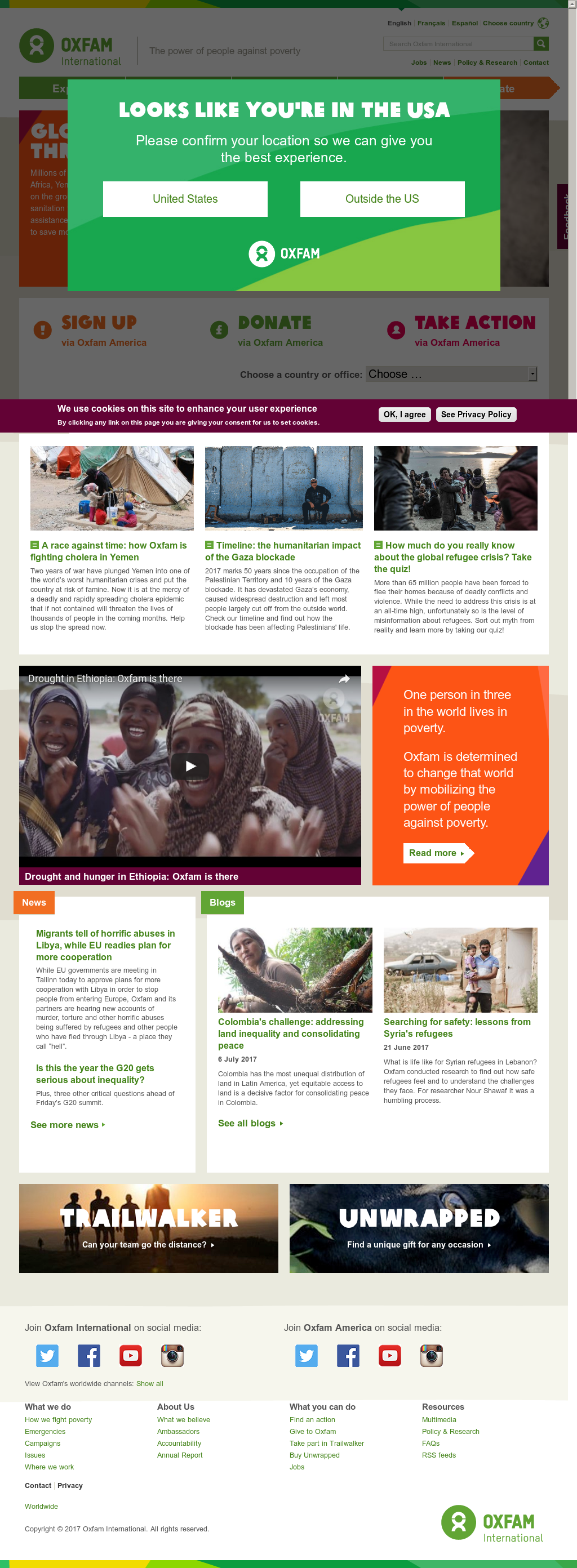 oxfam international history