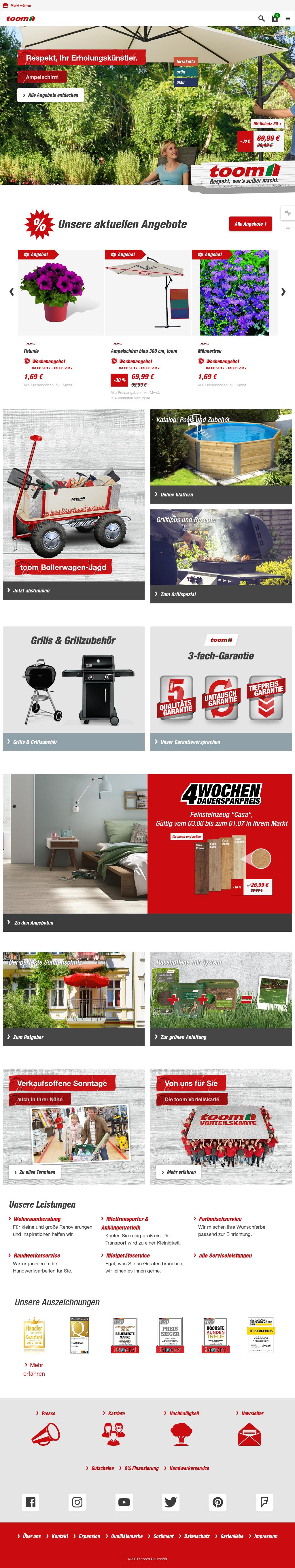 toom baumarkt competitors, revenue and employees - owler company profile