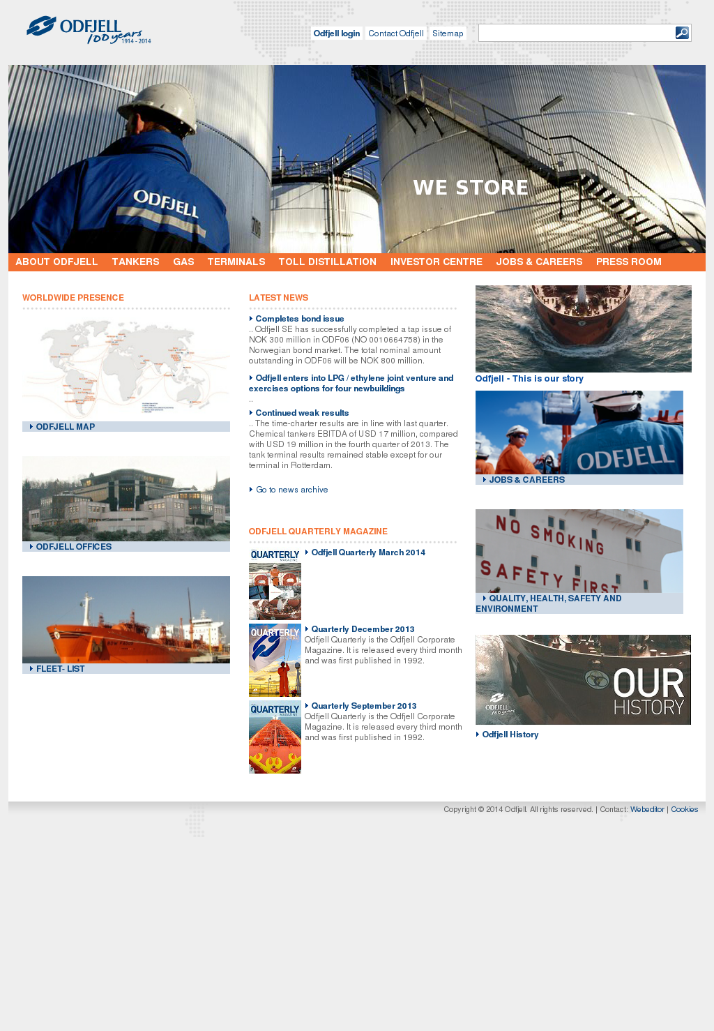 Odfjell Competitors, Revenue and Employees - Owler Company