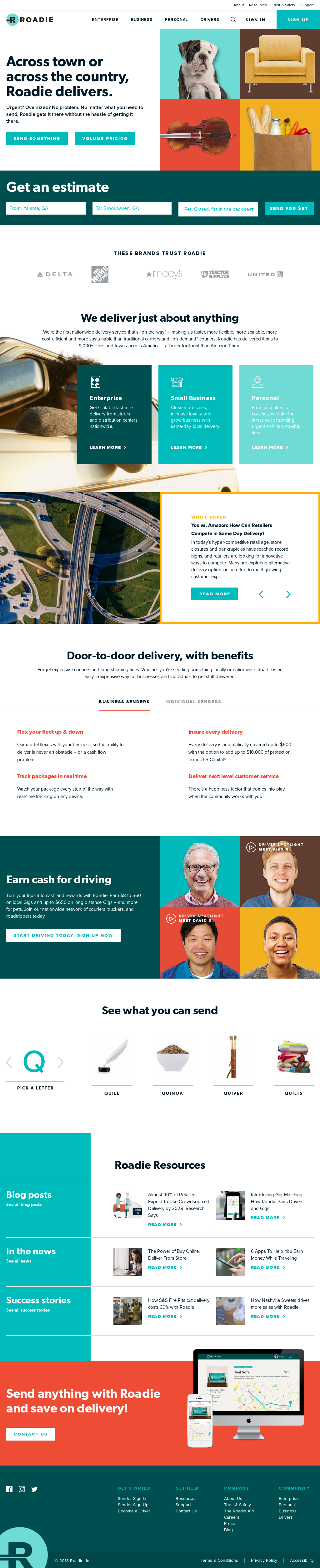 Roadie Competitors, Revenue and Employees - Owler Company Profile
