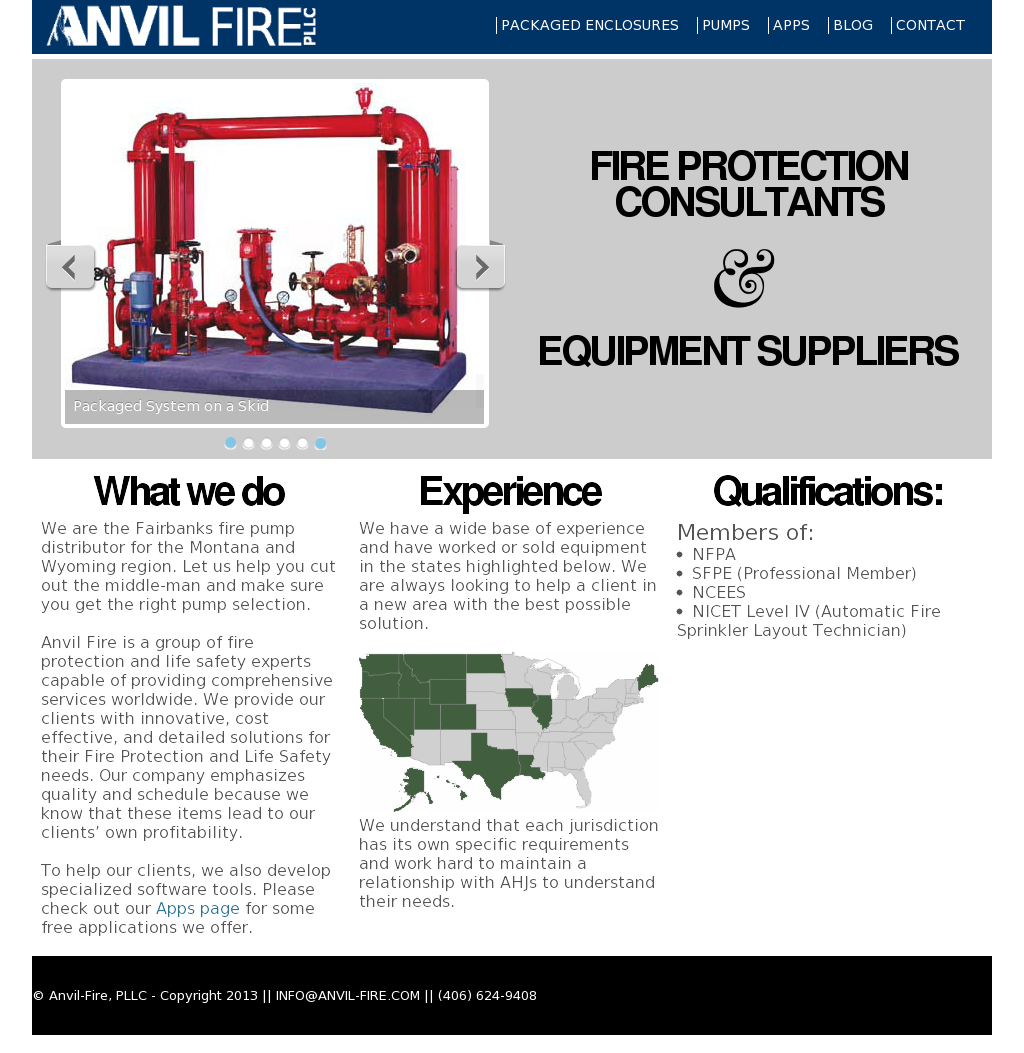 Owler Reports - Anvil-fire, Pllc Blog Seismic Design For Fire ...