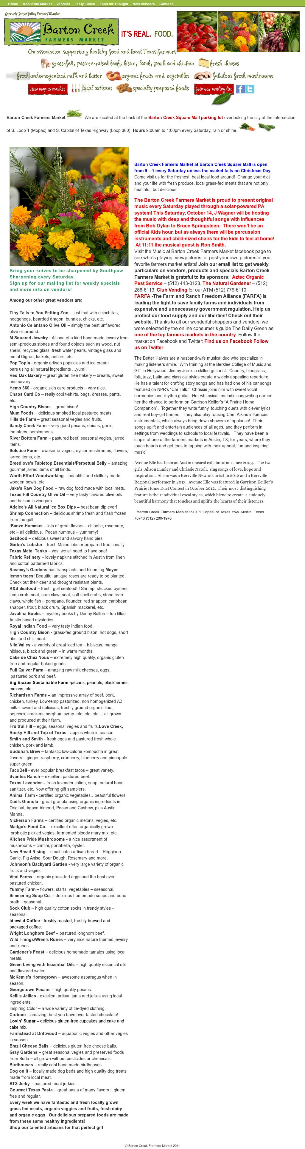 Barton Creek Farmers Market Competitors, Revenue and Employees ...
