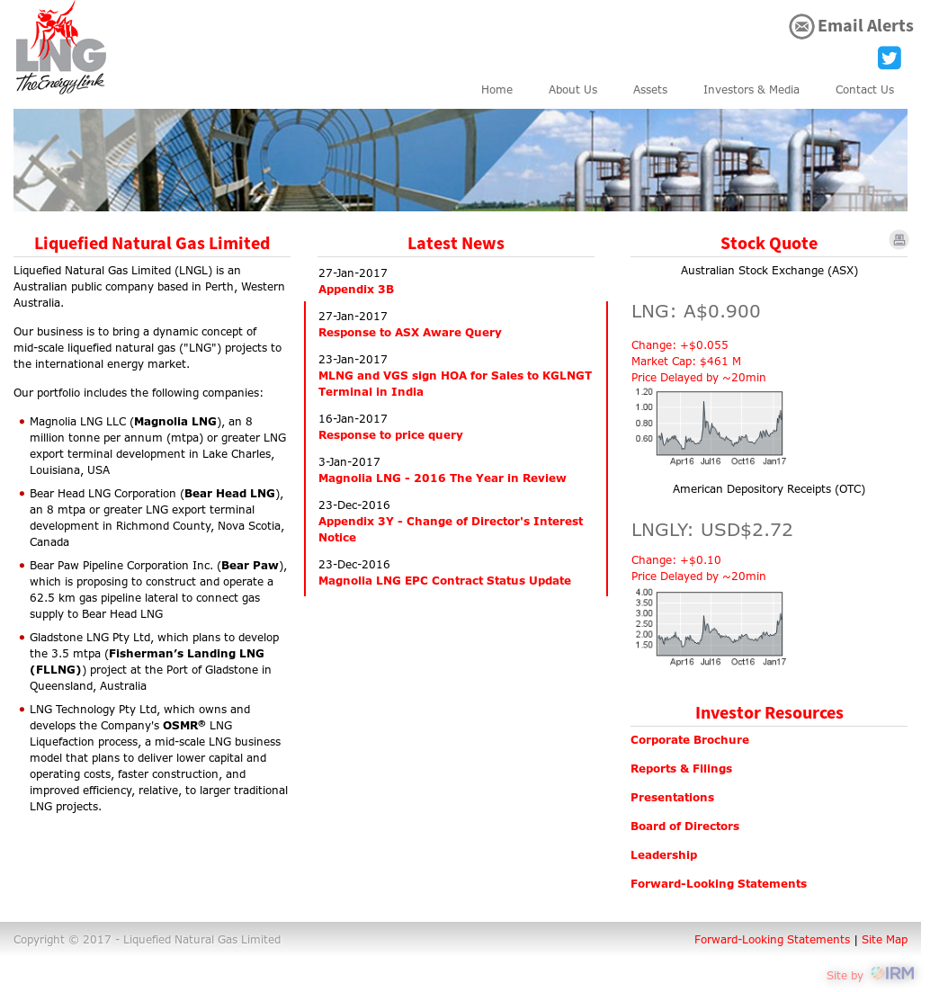 Lnglimited Competitors, Revenue and Employees - Owler Company Profile