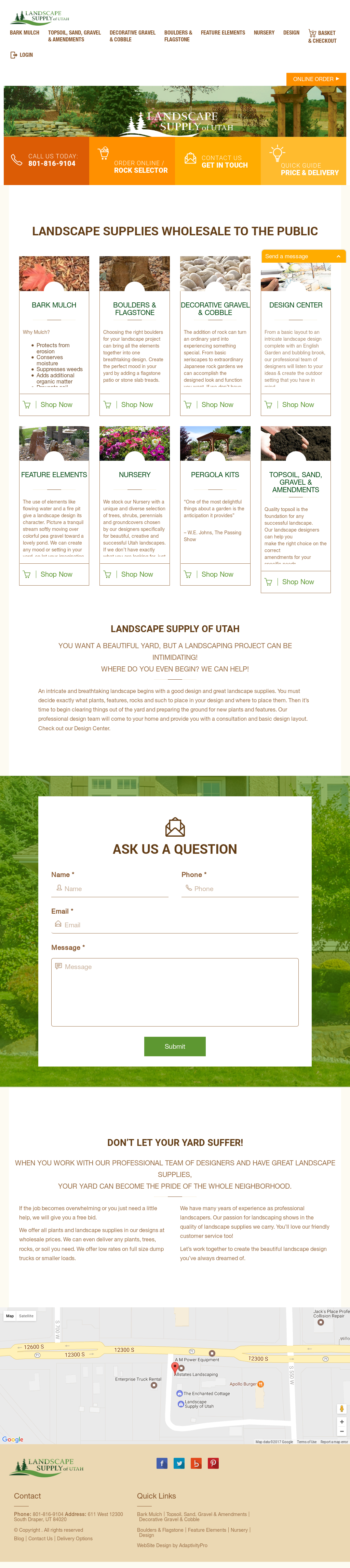 Website History - Landscape Supply Of Utah Competitors, Revenue And Employees - Owler