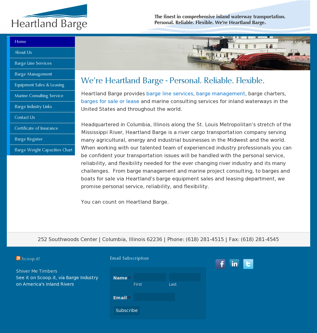 Heartland Barge Competitors, Revenue and Employees - Owler Company