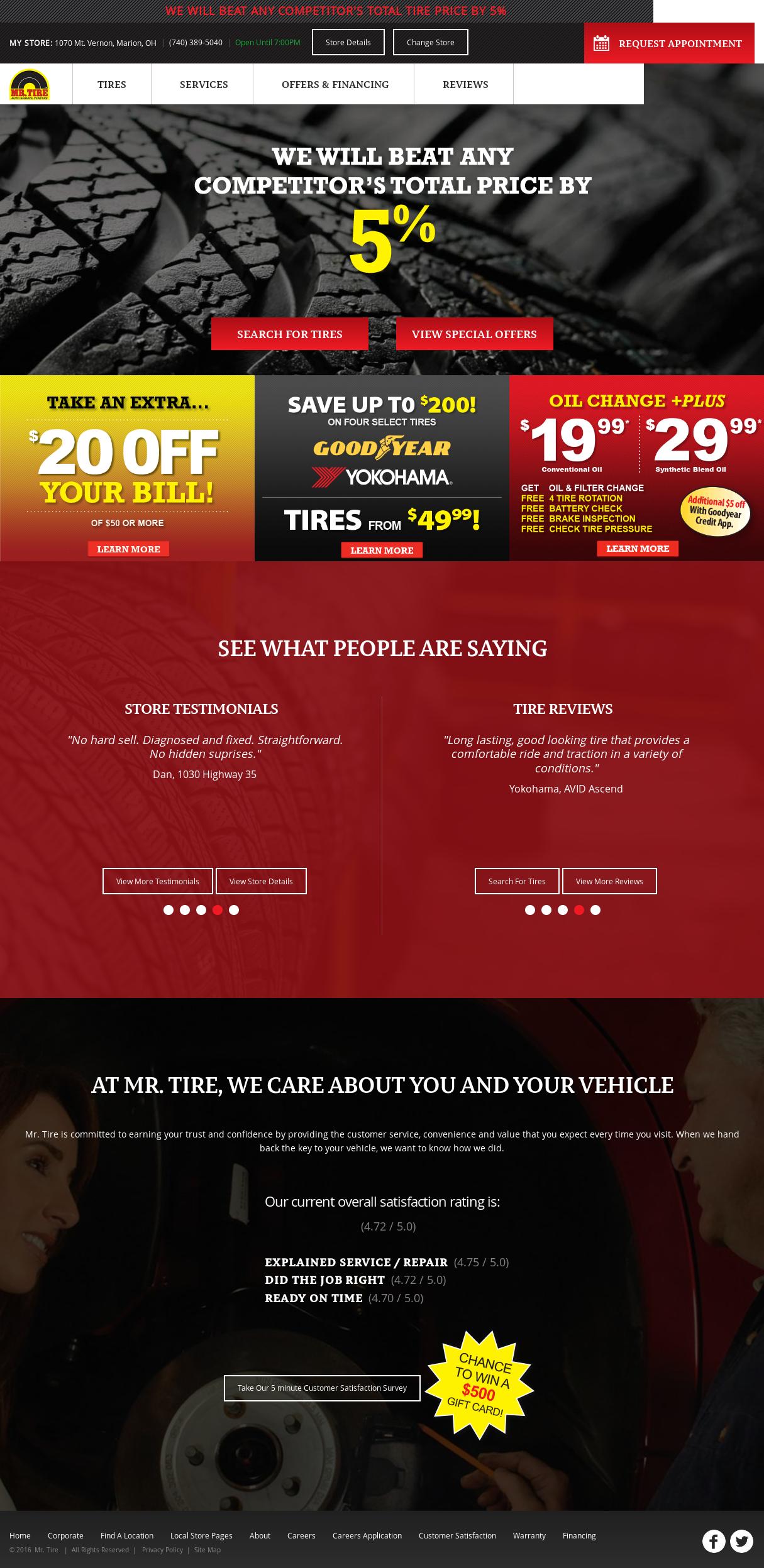 Mr Tire Competitors Revenue And Employees Owler Company Profile