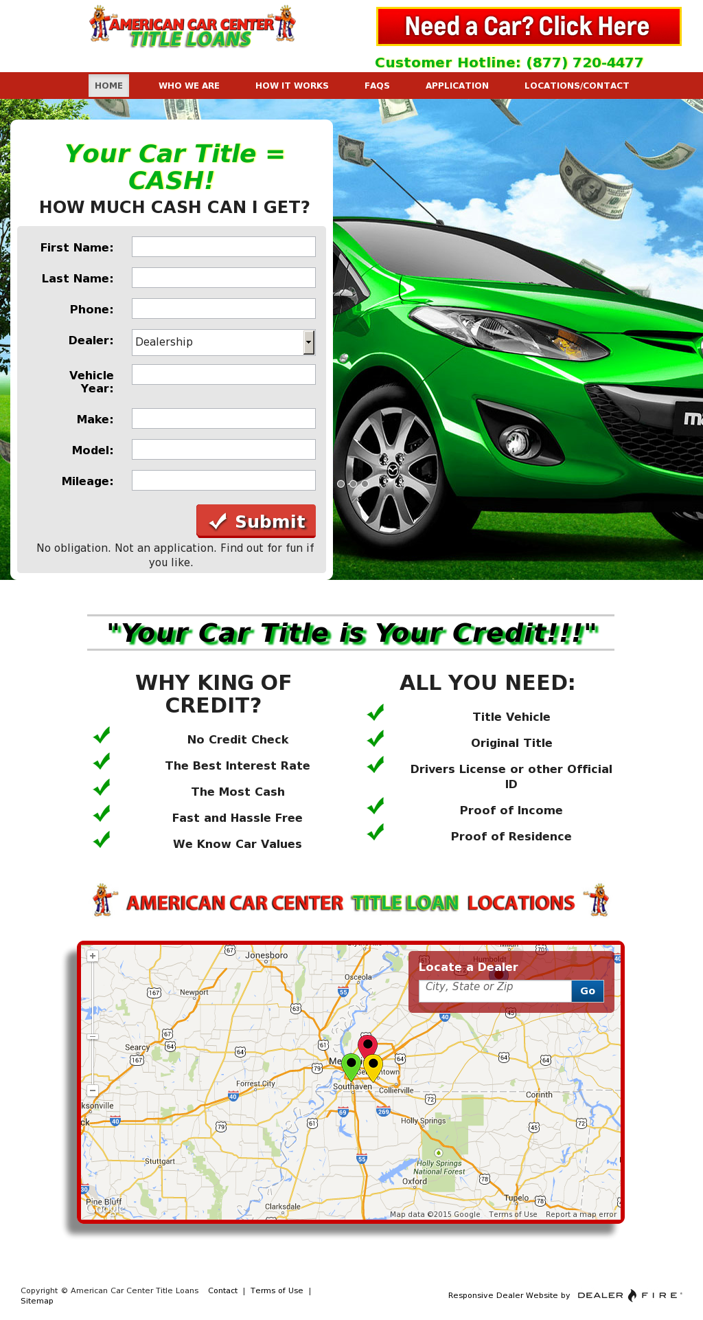 American Car Center Title Loans Competitors Revenue And Employees