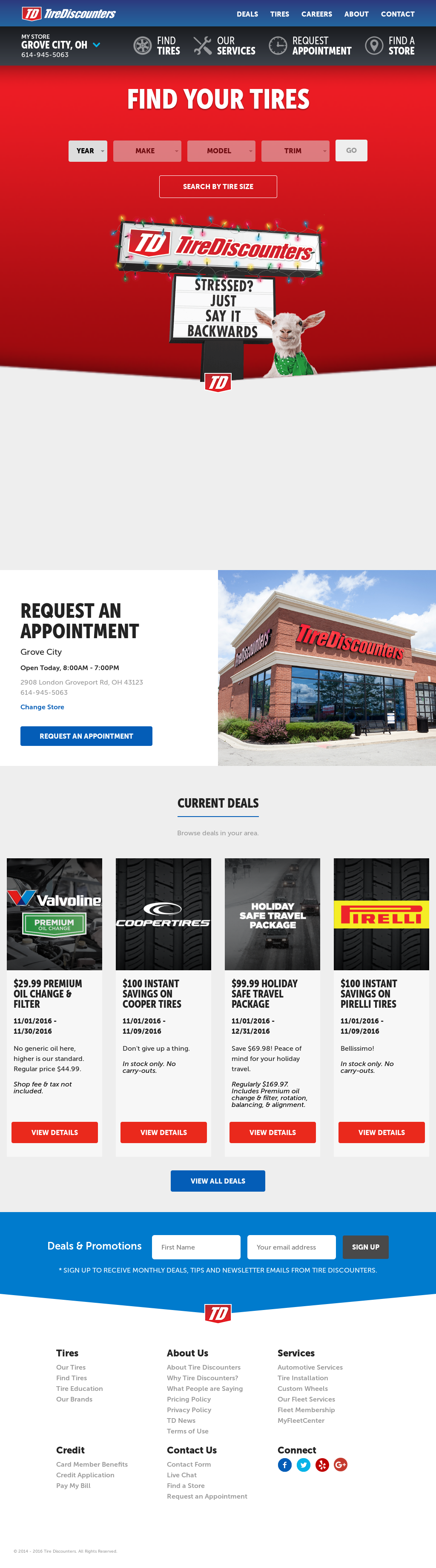 Tire Discounters Coupons >> Tirediscounters Competitors Revenue And Employees Owler