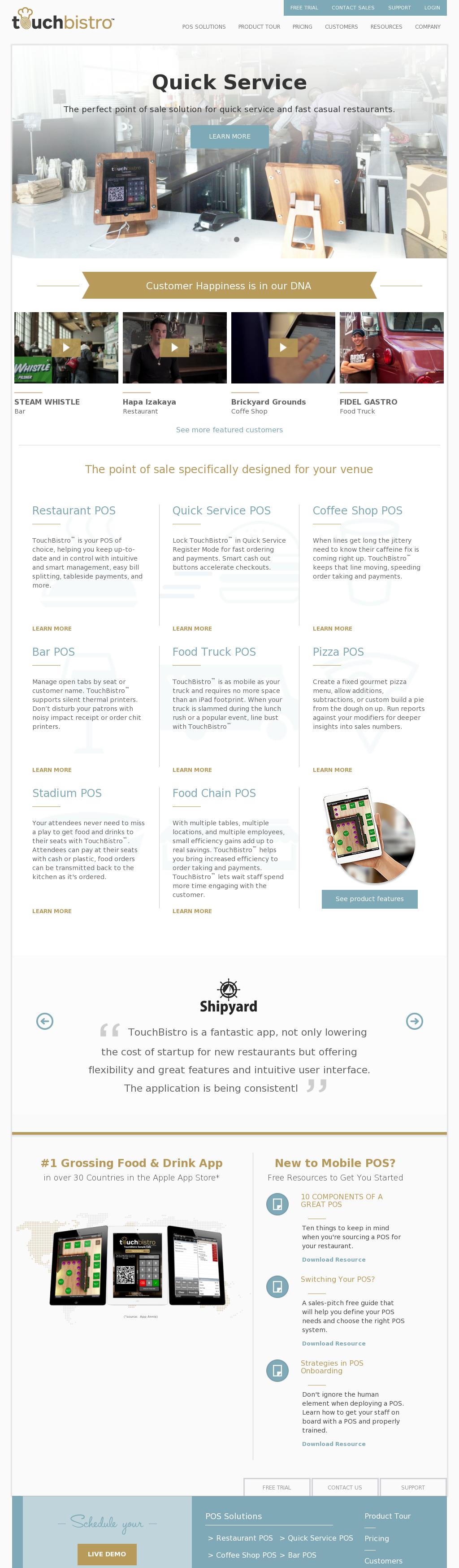 TouchBistro Competitors, Revenue and Employees - Owler Company Profile