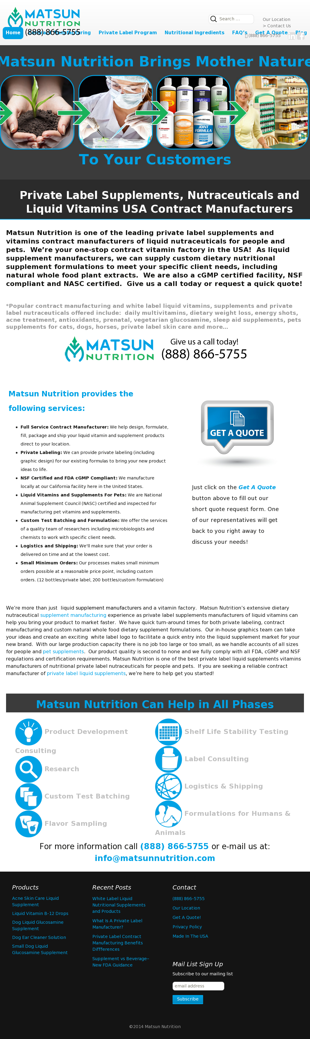 Matsun Nutrition Competitors, Revenue and Employees - Owler Company