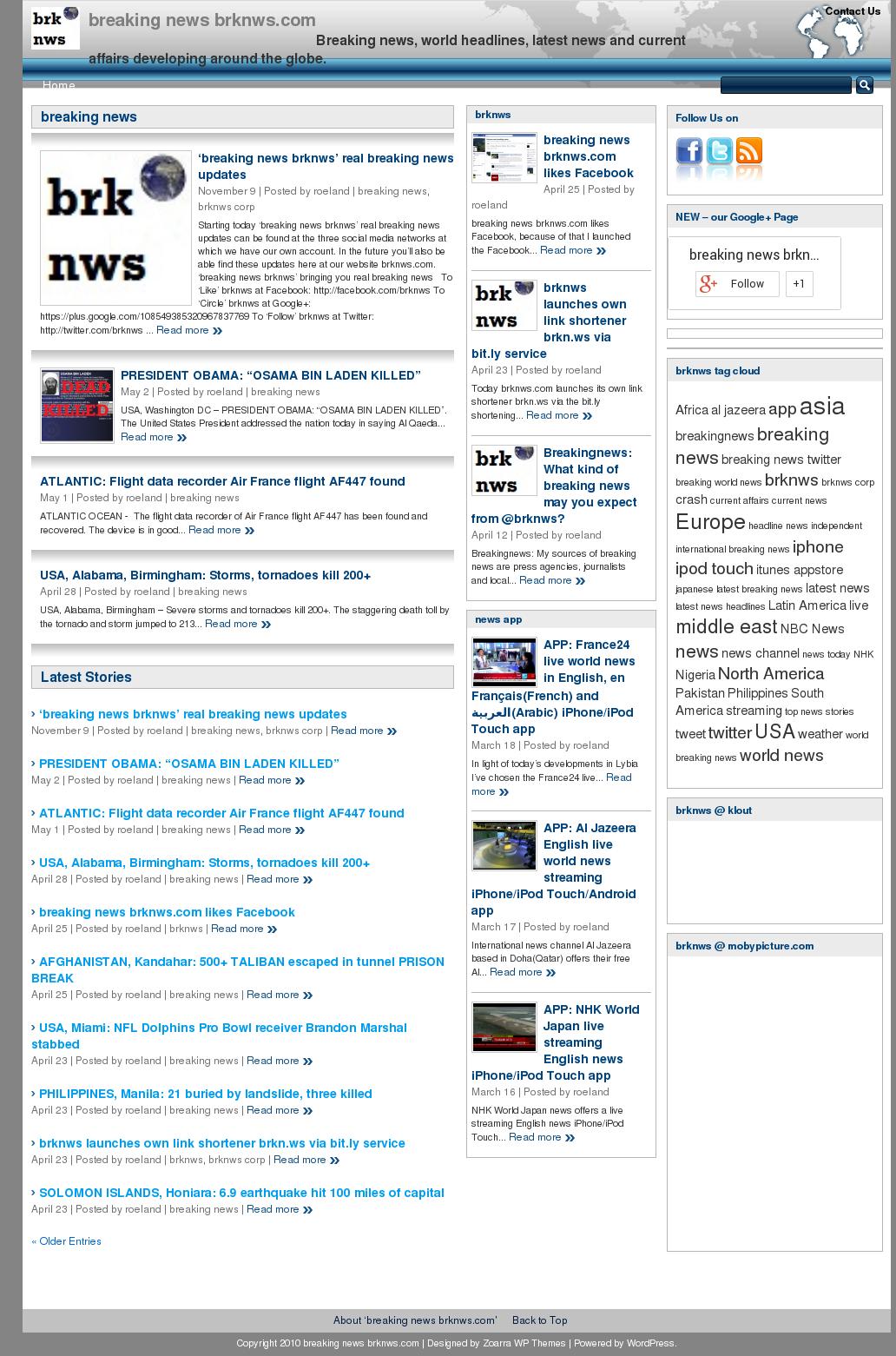 Top Five Google com Breaking News - Circus