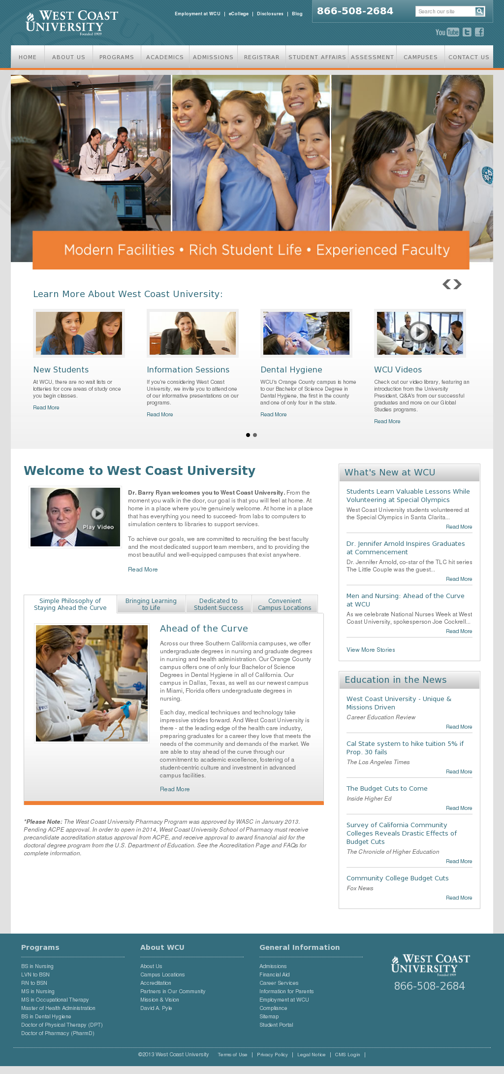 West Coast University Competitors Revenue And Employees Owler