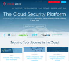 Threat Stack website history