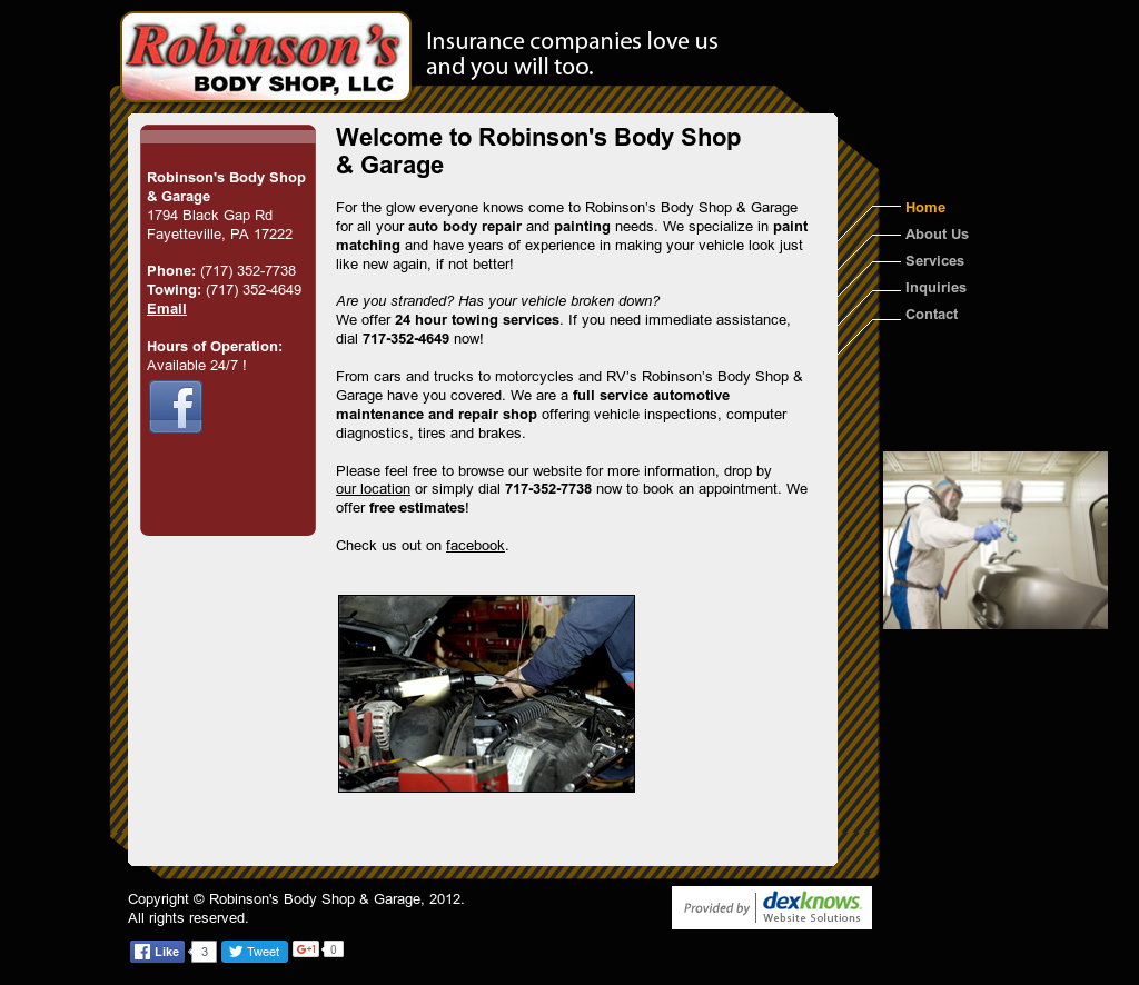 Robinson S Body Shop Garage Competitors Revenue And Employees