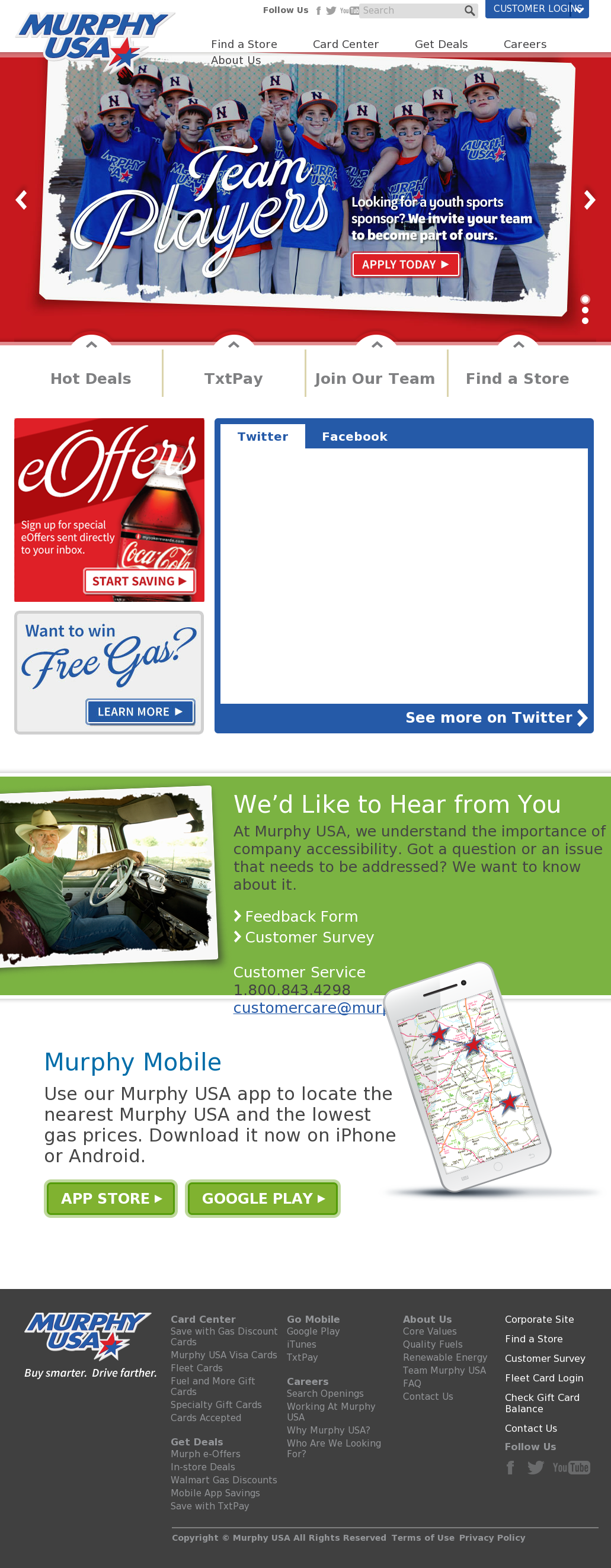 Murphy Visa Card >> Murphy Usa Competitors Revenue And Employees Owler Company Profile