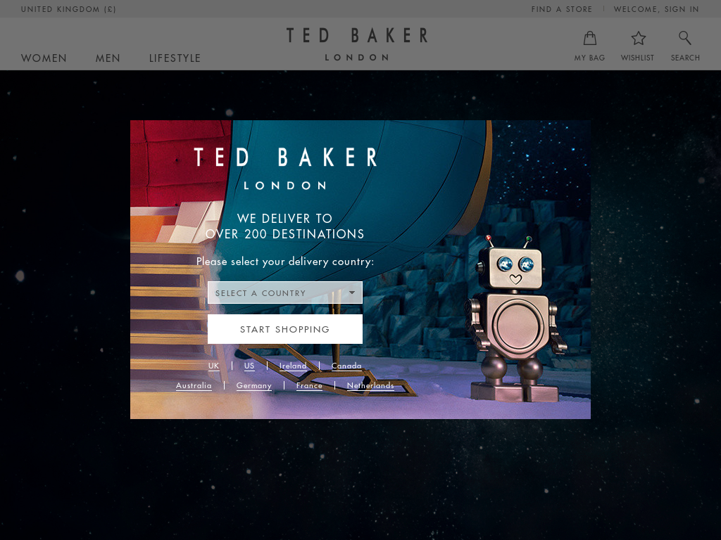 2316b3037 Ted Baker Competitors