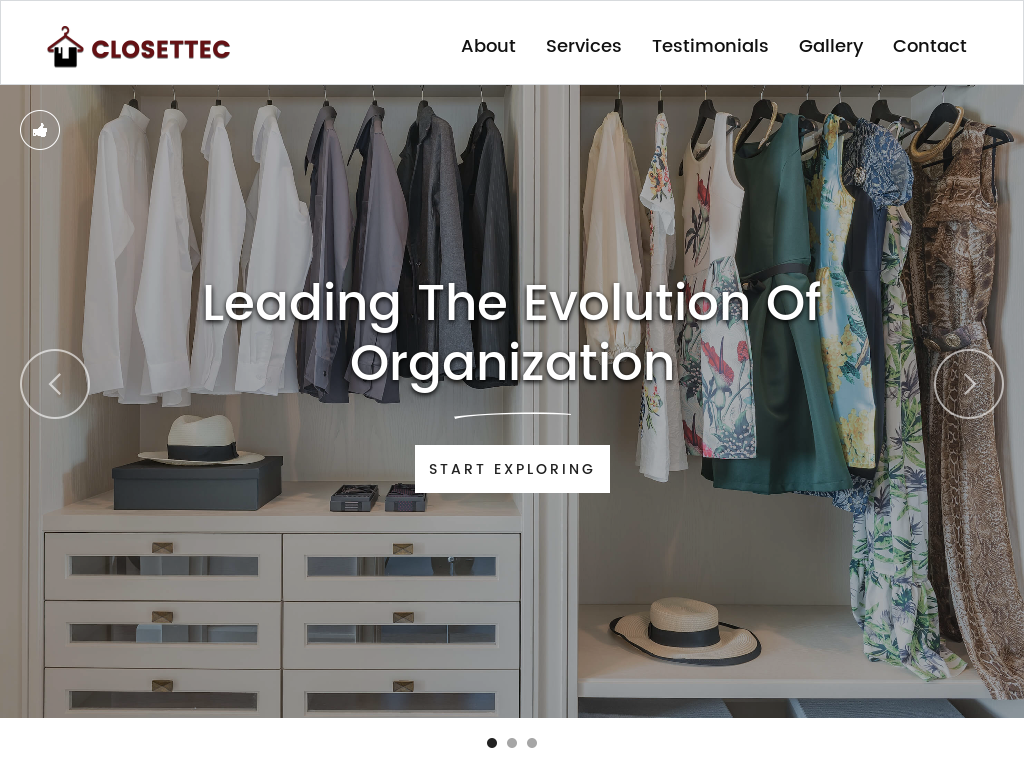 Don Cuffari Closettec Website History