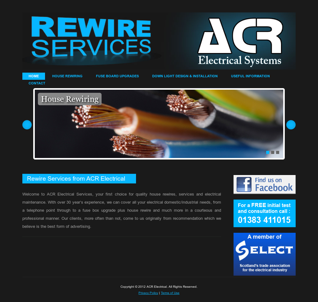 Acr Electrical Systems Competitors Revenue And Employees Owler History House Fuse Box Website