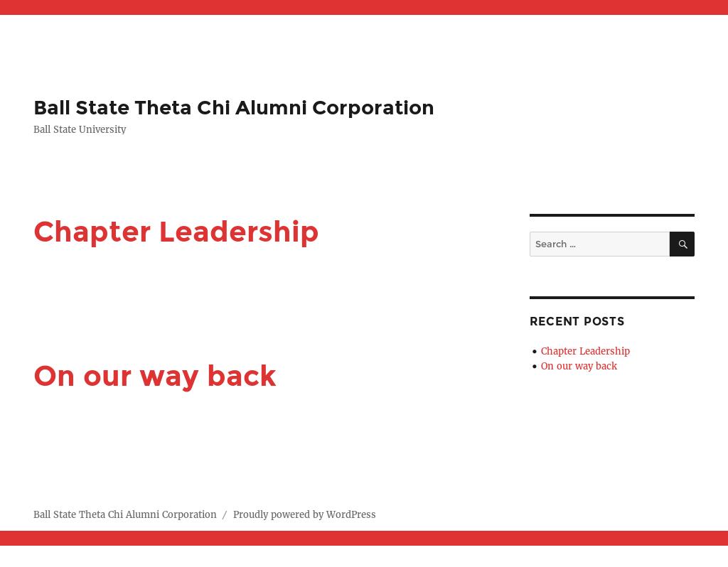 Theta Chi Fraternity - Delta Kappa Chapter Alumni