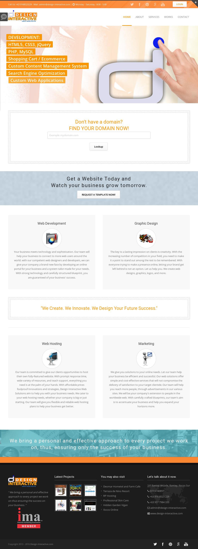 Design Interactive Web Solutions Competitors Revenue And