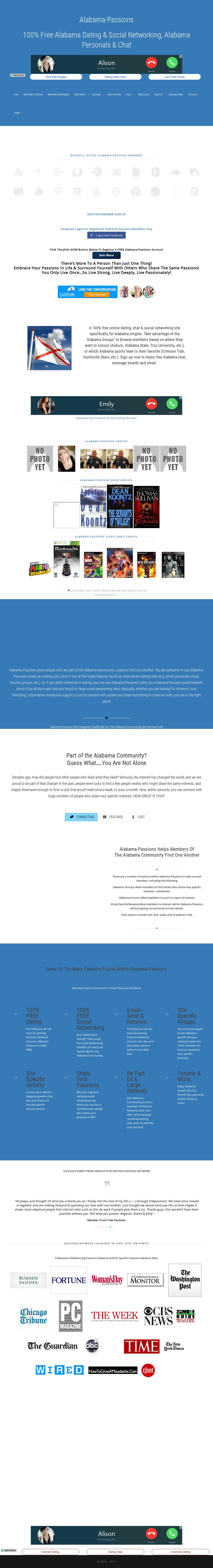 Alabama singles chat