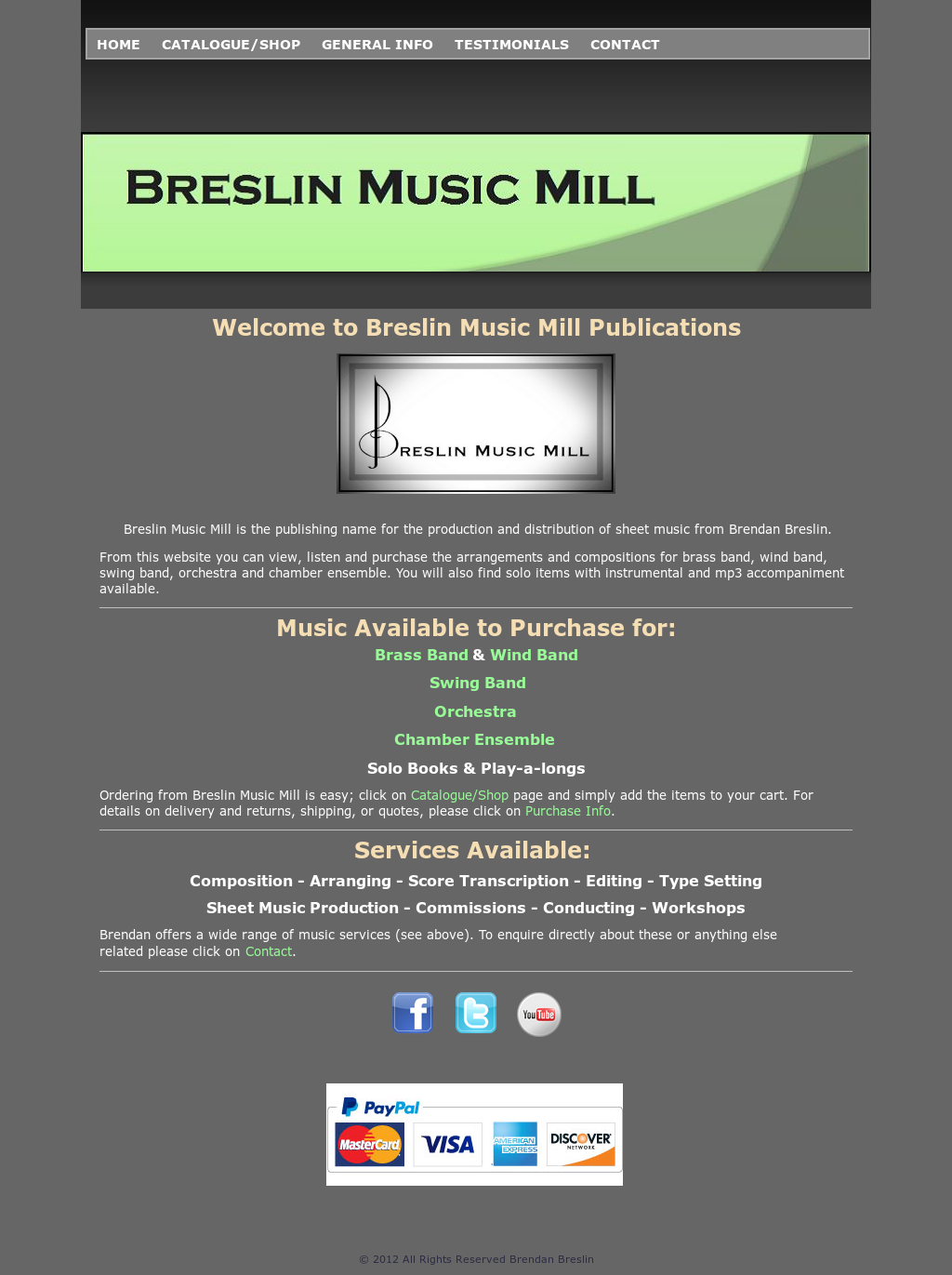 Breslin Music Mill Competitors, Revenue and Employees - Owler