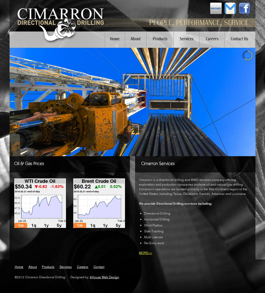 Cimarron Directional Drilling Competitors, Revenue and