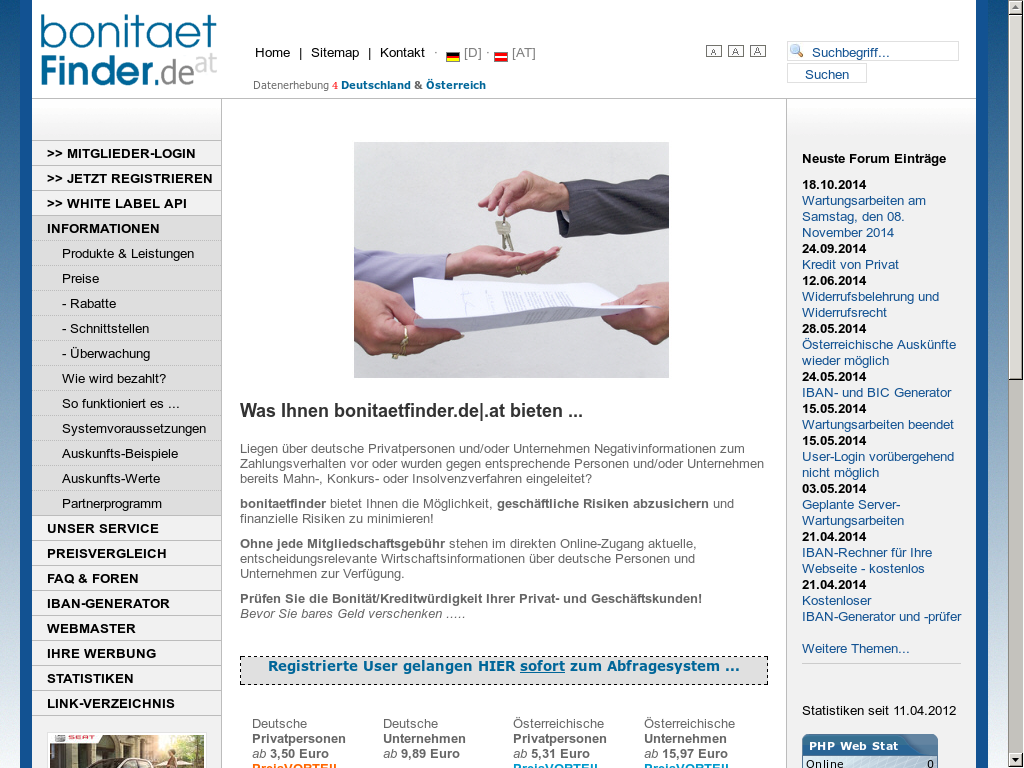 Bonitaetfinder de Competitors, Revenue and Employees - Owler