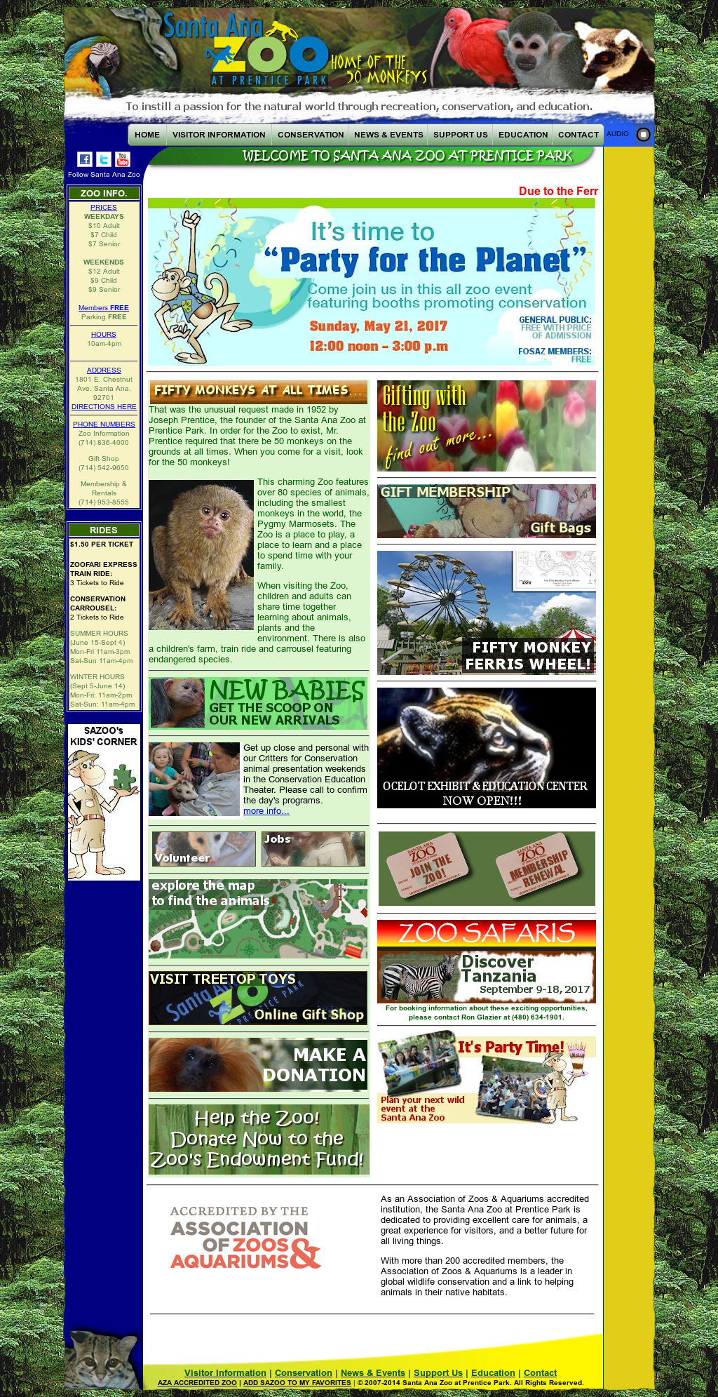 an overview of the santa ana zoo This tour includes both parts of a 2 part grand overview of san  mcnay art museum san antonio zoo stop at  of emily morgan and general santa ana.