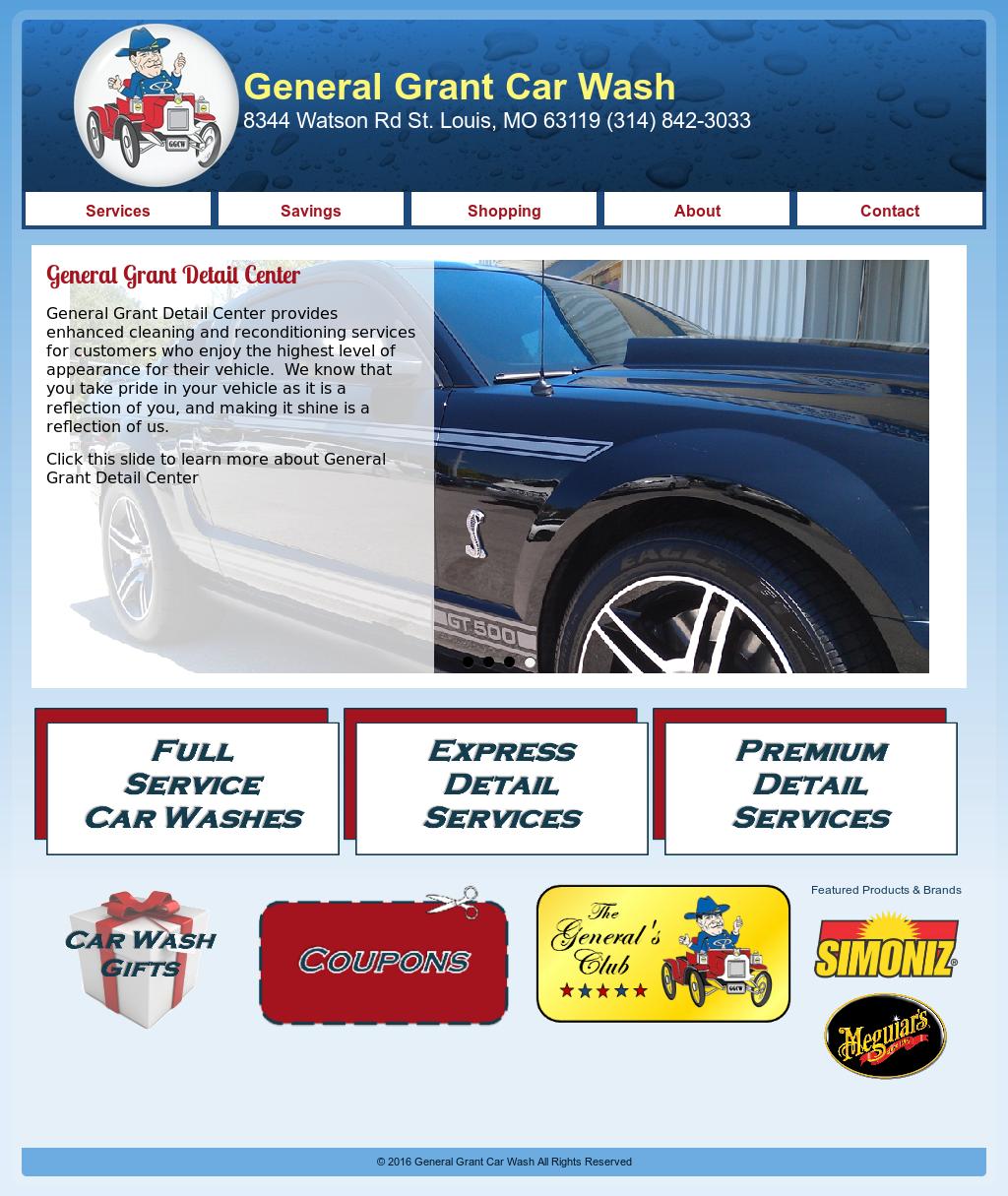 General Grant Car Wash Detail Center Competitors Revenue And